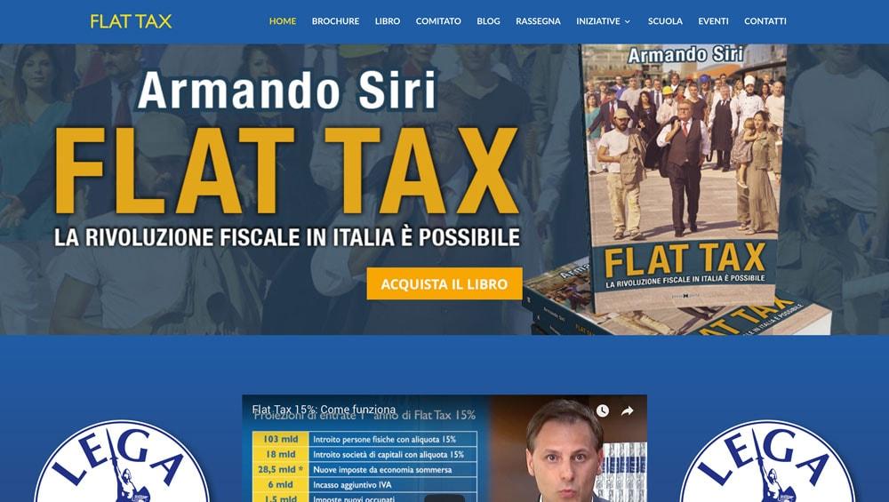 Armando Siri, Flat tax: La Rivoluzione Fiscale in Italia e' possibile